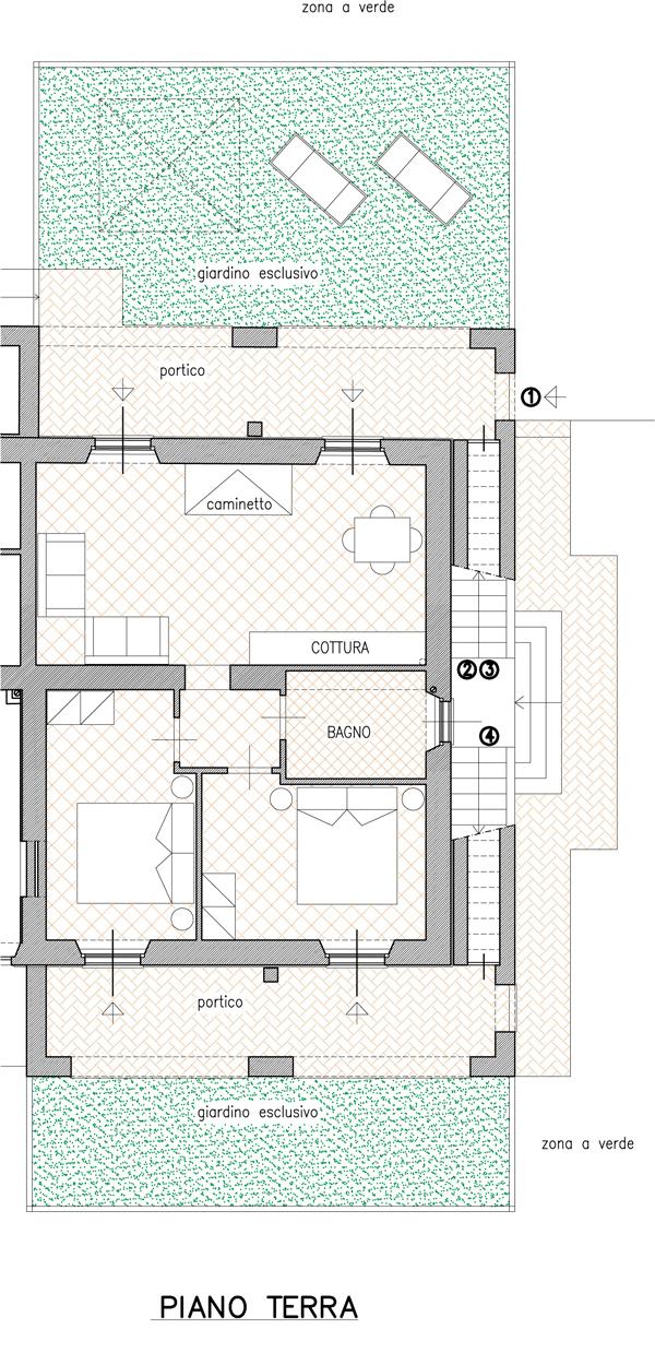 planimetria appartamento frantoiano