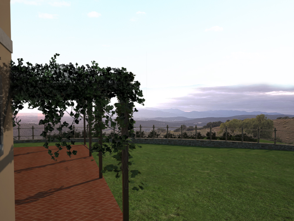 Vista mozzafiato dalla terrazza