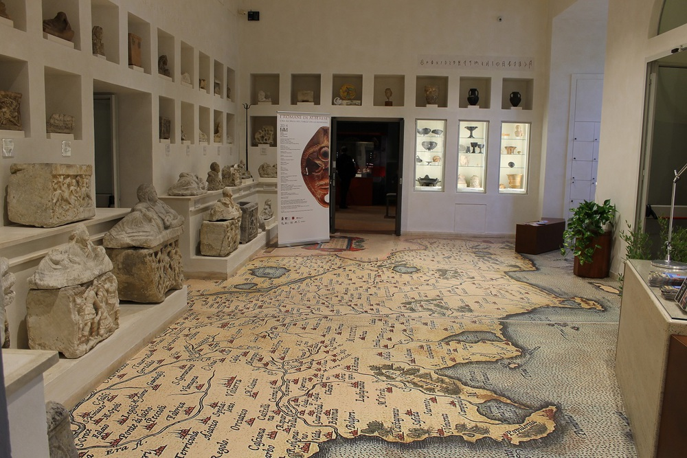 MAAM Archaeological and Art Museum of the Maremma and the Museolab City of Grosseto.