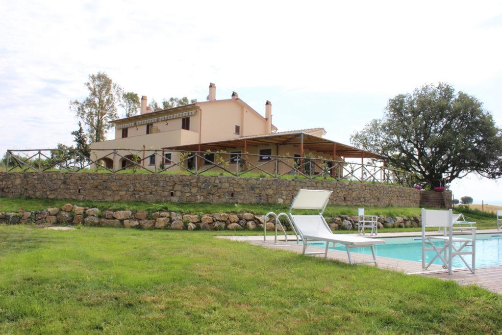 Agriturismo l'Anichino in maremma a Grosseto - Toscana con piscina, animali ammessi