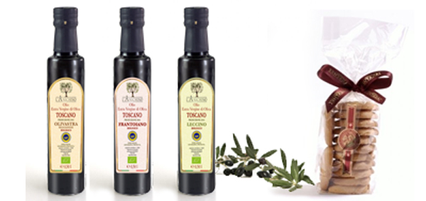 Organic oil leccino, olivastra seggianese, frantoiano, and other product